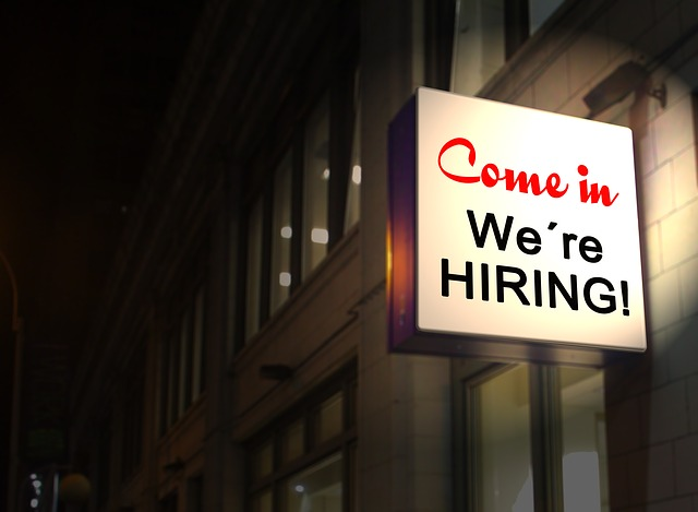 Come In - We are Hiring