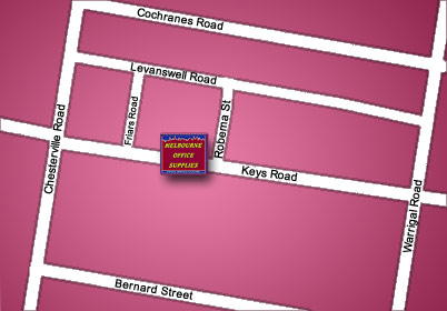 Map of Head Office