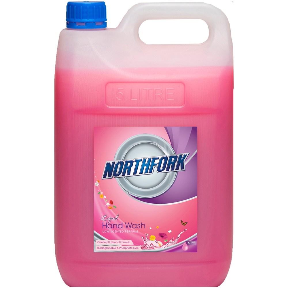 Northfork Liquid Hand Wash Pink 5 Litre