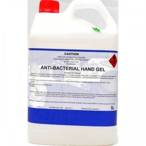 Antibacterial Hand Gel 5L 70% Alcohol to Suit KLE-06DISPTF Dispenser