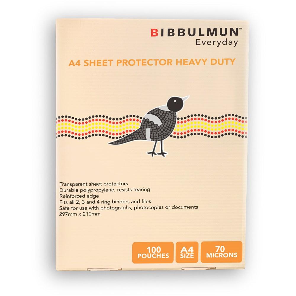 BIBBULMUN SHEET PROTECTORS
