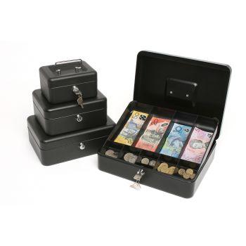 REXEL CASH BOX #6 BLACK