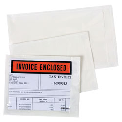 INVOICE ENCLOSED LABELOPES