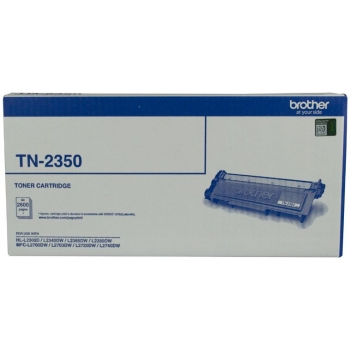 BROTHER TN-2350 ORIGINAL BLACK TONER CARTRIDGE 2.6K