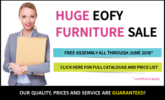 Huge EOFY Furniture Sale. Free Assembly All Through June 2018*.
