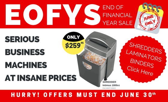 END OF FINACIAL YEAR SALE. Serious Business Machines at Insane Prices. Hurry! Offers must end June 30th.