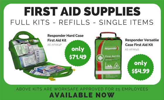FIRST AID SUPPLIES. FULL KITS - REFILLS - SINGLE ITEMS.
