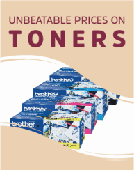 New Toner Show - Leading Brands, Lower Prices. Free Gift with orders over $600